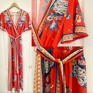 Flying Tomato Coral Jumpsuit M
